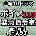 ボイス 110緊急指令室 動画4話をPandora,dailymotionで無料視聴!8月3日放送日